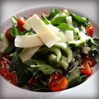 Spinaci salad with balsamic vinegar